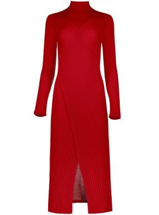 frida red dress violanteamore front product view
