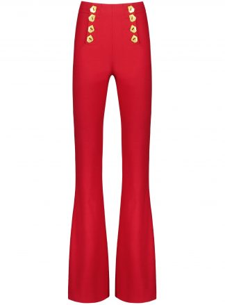 matisse red trousers front product image
