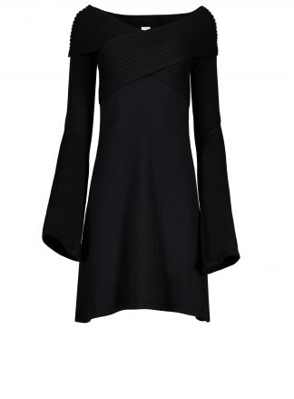 stella black dress violanteamore front product view