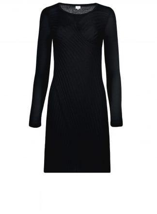 salvador black dress violanteamore front product view ecommerce