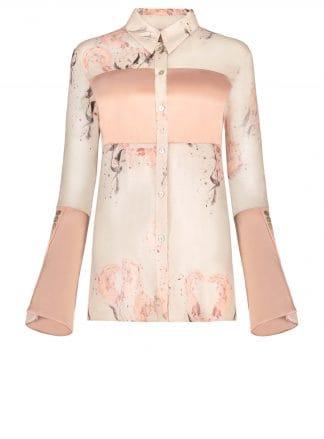 Violante Nessi Vincent pink blouse