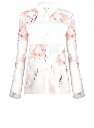 Violante Nessi vince blouse white front