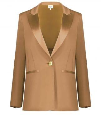Violante Nessi Pablo blazer in camel colour