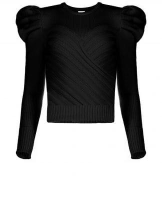 Violante Nessi Yayoy black sweater
