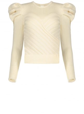 Violante Nessi Yayoy white sweater