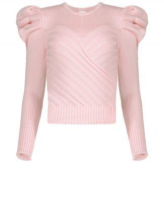 Violante Nessi Yayoy pink sweater
